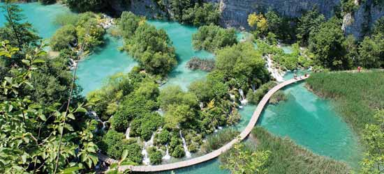 Der Nationalpark Plitvicer Seen in Kroatien (Pixabay)