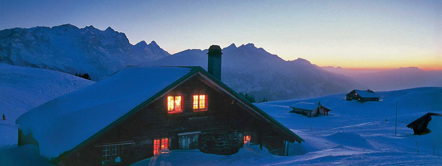 skih tte skiurlaub mitten im skigebiet. Black Bedroom Furniture Sets. Home Design Ideas