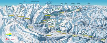 Pistenplan Engadin-St.Moritz