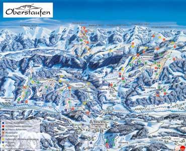 Pistenplan Oberstaufen