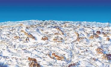 Pistenplan Dolomiti Superski