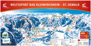 Pistenplan Bad Kleinkirchheim