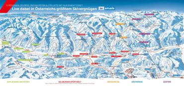 Pistenplan Ski Amade