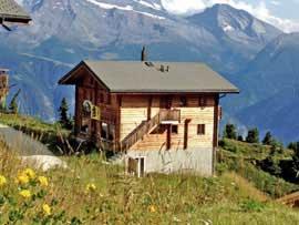 Hütte Belalp