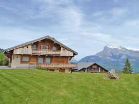 Chalet Mont Blanc-Blick