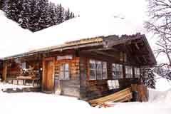 Hütte Leogang