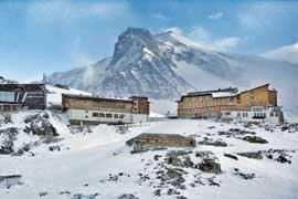 Skihütte Weißsee Gletscher