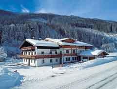 Gruppenhaus Saalbach für den Winter