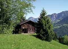 Hütte Golm
