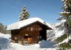 Skihütte Golm