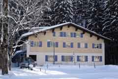 Gruppenhaus im Bregenzerwald